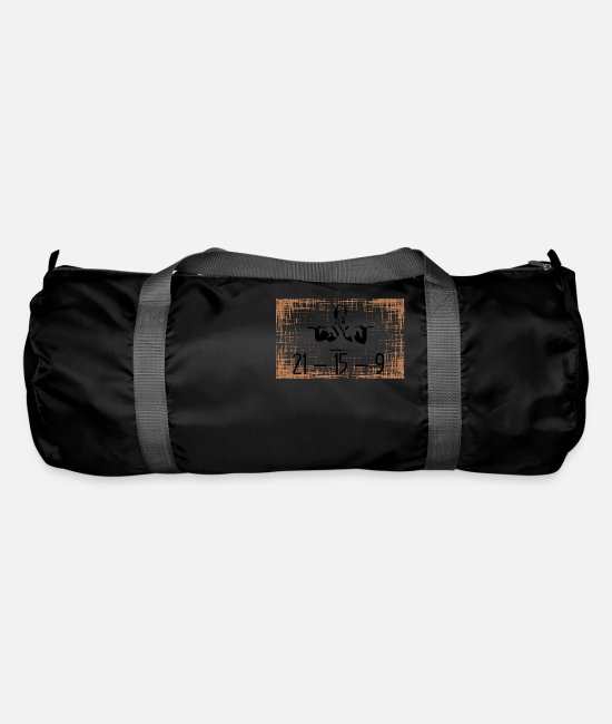 Training Bags & Backpacks - Crossfit Fran 21-15-9 - Duffle Bag black