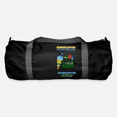 Idoetzchen Schoolchild training first grader - saying - Duffle Bag
