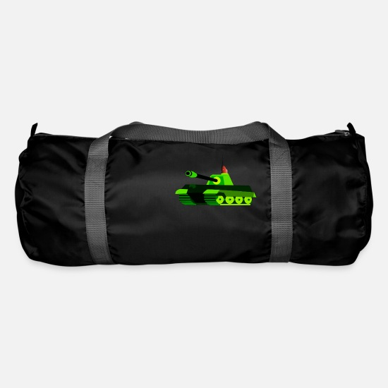 Army Bags & Backpacks - tank tank was war tanque military militaer2 - Duffle Bag black