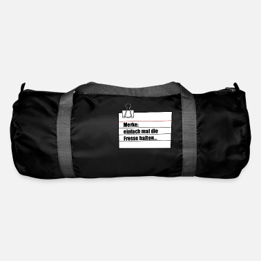 Note Clue note - Duffle Bag