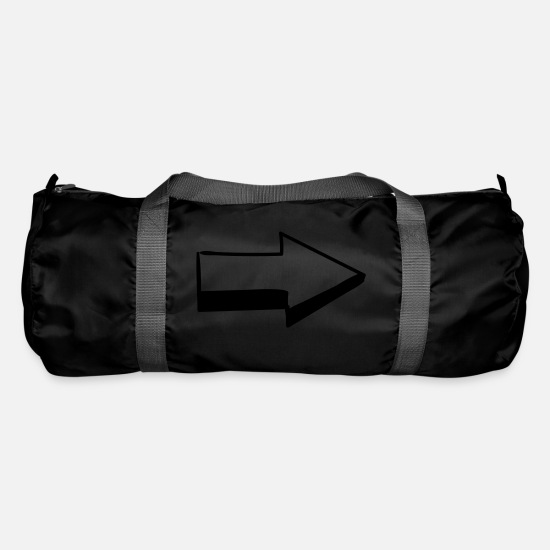 Love Bags & Backpacks - Arrow - Duffle Bag black