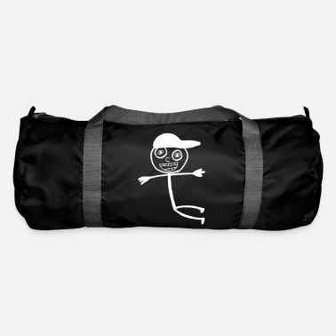 Kid In A Cap - White - Duffle Bag