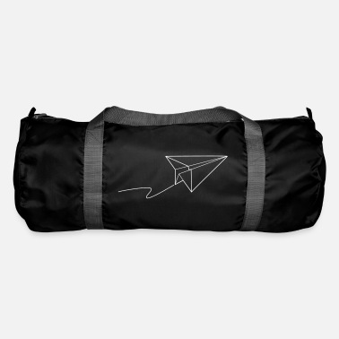 Paper Paper plane - fly away - Duffle Bag