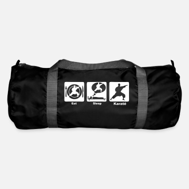Karaté karate eat sleep play - Sac de sport