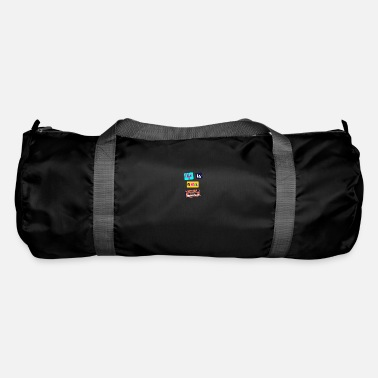Cassette Tape Design - Duffle Bag
