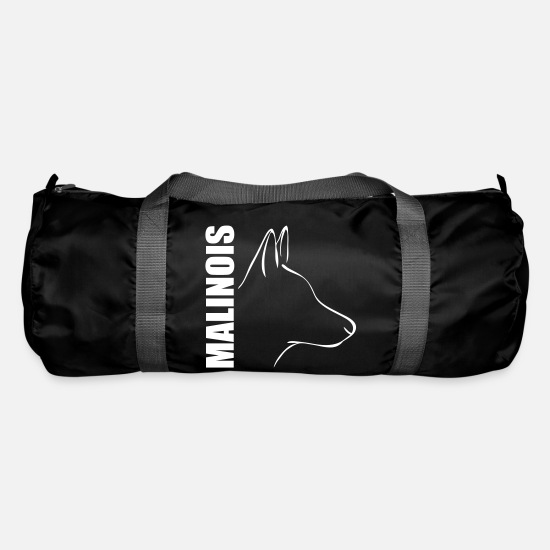 Malinois Bags & Backpacks - MALINOIS PROFILE - Duffle Bag black