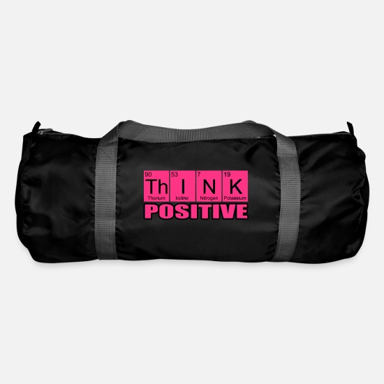 Think Bags & Backpacks - Think positive - Duffle Bag black