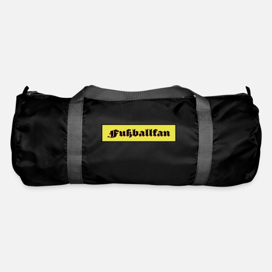 Stadium Bags & Backpacks - football fan - Duffle Bag black
