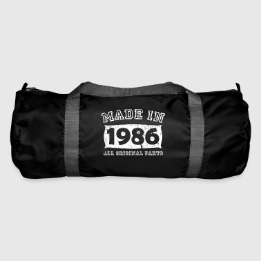 Birth Birth year birth born in 1986 - Duffel Bag