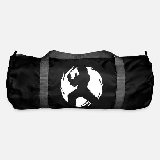 Tai Chi Bags & Backpacks - Tai Chi Master - Duffle Bag black