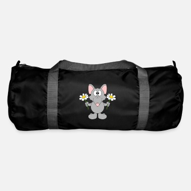 Style Ratto divertente - Fiori - Regalo - Animale - Divertimento - Borsa sportiva