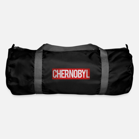 Typography Bags & Backpacks - Chernobyl - Duffle Bag black
