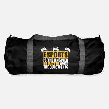 Esport Esports Shirt Esports is the Answer - Duffle Bag