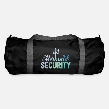 Mermaid Security Birthday Gift For Swim Instructor - Borsa sportiva