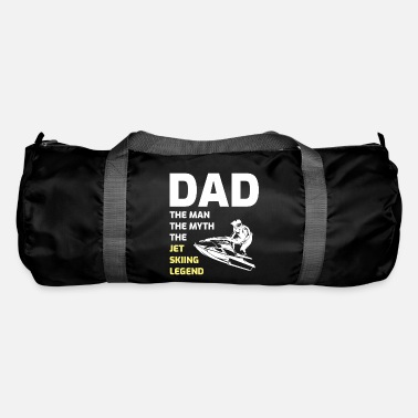 Funny Sayings Jet Ski Water Sports Boat Sea Dad Fathers day - Duffle Bag
