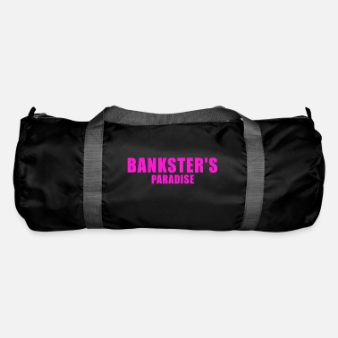 Money-grubbing BANKSTER GIFT BANK BANKER FINANCE MANAGER MBA - Duffle Bag