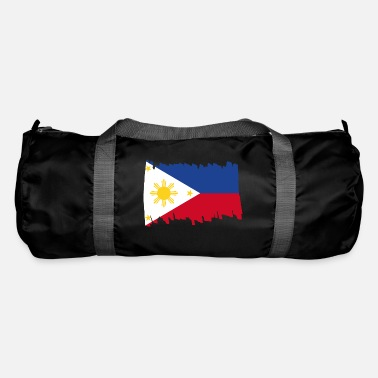 Patriot Philippines National Flag - brush vertical - Sporttasche