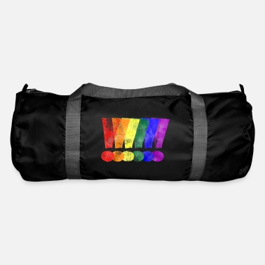 LGBTQ Pride Exclamation Points - Duffle Bag