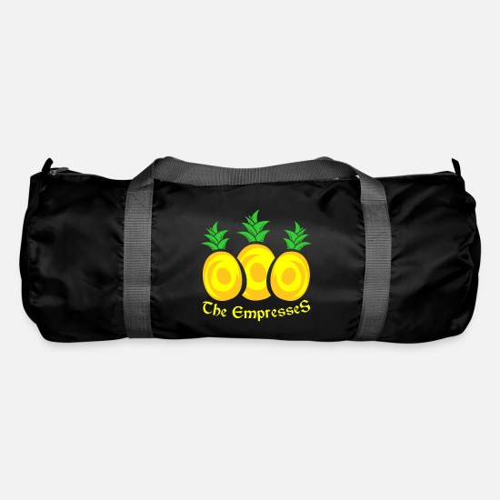 Enviromental Bags & Backpacks - fruit - Duffle Bag black