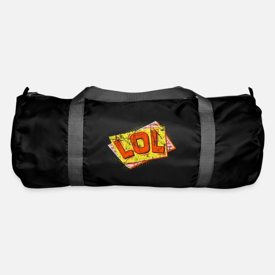 Sayings Bags & Backpacks - saying - Duffle Bag black