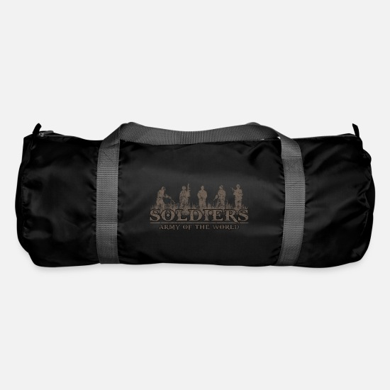 Gift Idea Bags & Backpacks - Army camouflage Bundeswehr gift idea - Duffle Bag black