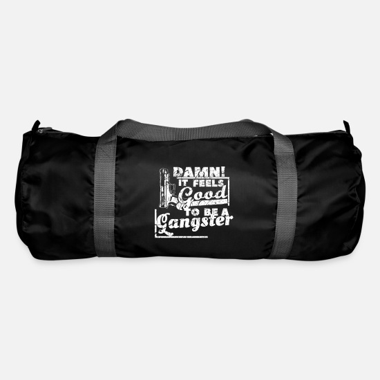Rap Bags & Backpacks - Gangster saying - Duffle Bag black