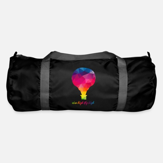 Occasion Bags & Backpacks - aim high fly high / aim high fly high - Duffle Bag black
