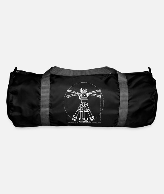 Robot Bags & Backpacks - Artificial intelligence - Duffle Bag black