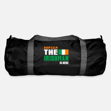 National Keep Calm Ireland / Gift National Colours - Sac de sport