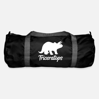 Tricep Triceratops Triceps Dinosaur Gift Dino - Duffle Bag