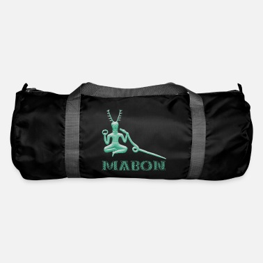 Performance mabon with cernunnos turquoise - Duffle Bag