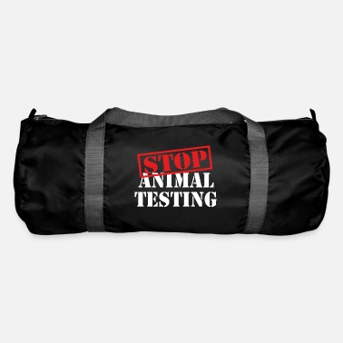 Animal Rights stop animal testing - animal rights - Sporttasche