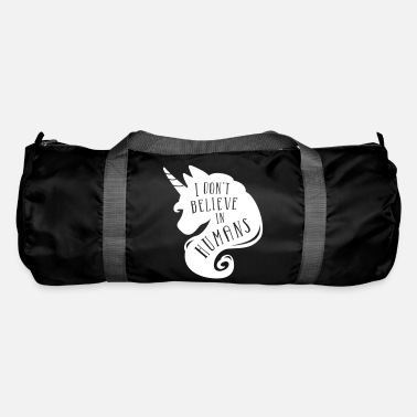 I don´t believe in humans - unicorn - Duffle Bag