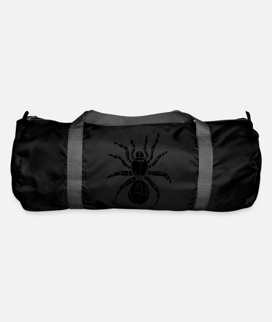 Animals Bags & Backpacks - spider - Duffle Bag black