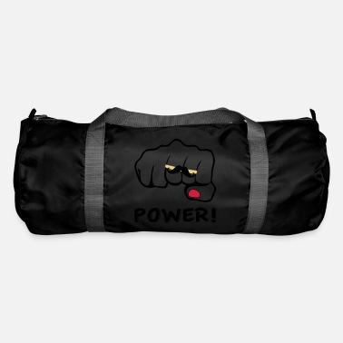 I love moustache power - Sac de sport