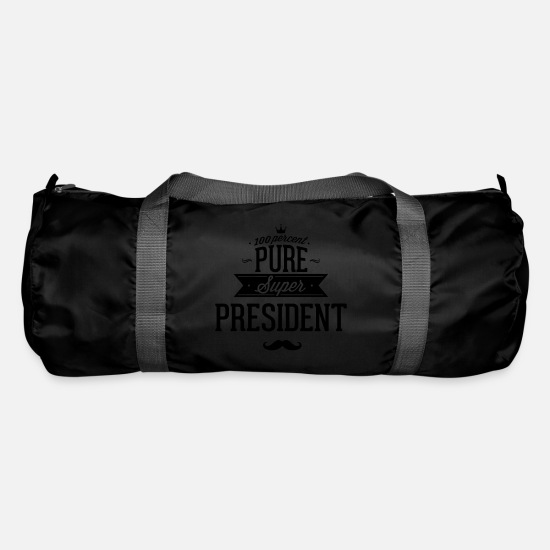 Usa Bags & Backpacks - 100% Super President - Duffle Bag black