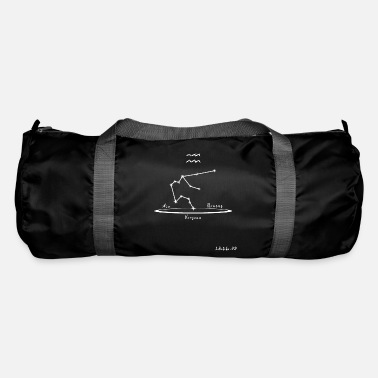 Astrology Aquarius Theme and Constellation Version 2 - Duffle Bag