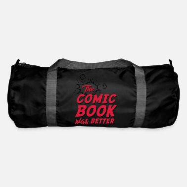 Comic Book The Comic Book Was Better - Duffle Bag