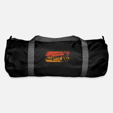 Locomotive Locomotive steam locomotive - Duffle Bag