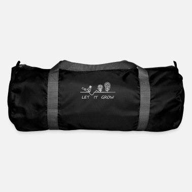 Yield LET IT GROW Investment growth grow from capital - Duffle Bag