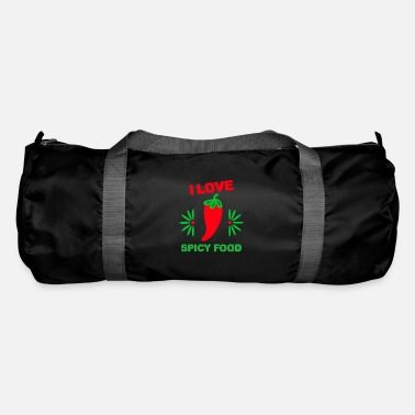 Chili Note de piment chili - Sac de sport