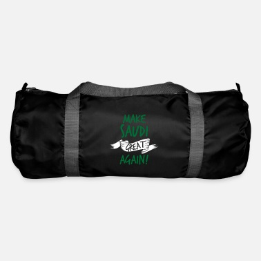 Arabia Make Saudi Arabia Great Again colored - Duffle Bag