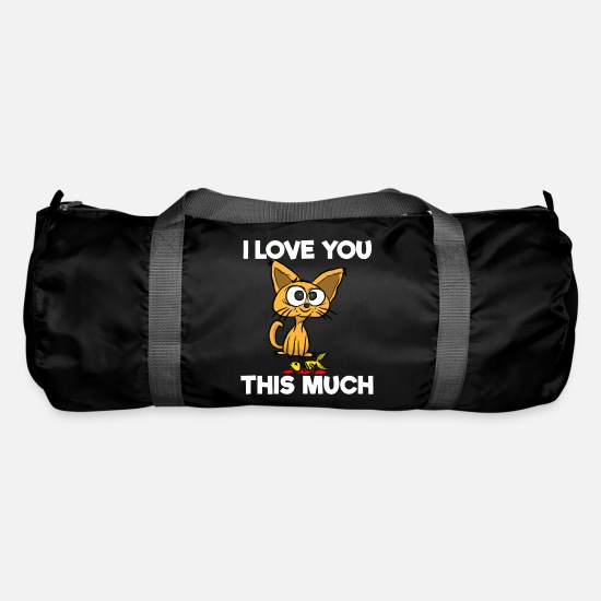 Birthday Bags & Backpacks - declaration of love - Duffle Bag black