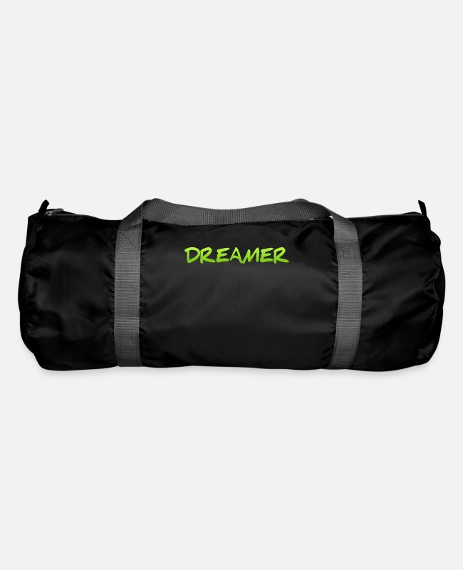 Bed Bags & Backpacks - Dreamer Dreaming Sleeping Hope Confidence Shirt - Duffle Bag black
