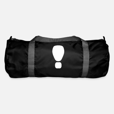 Exclamation mark respect Hello - Duffle Bag