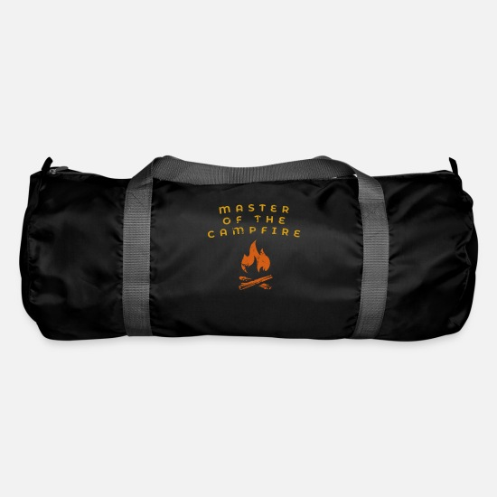 Love Bags & Backpacks - Master Of The Campfire - Duffle Bag black