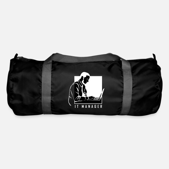 Gift Idea Bags & Backpacks - Information Computer Science Computer Gift - Duffle Bag black