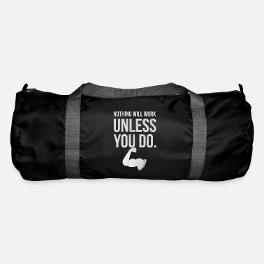 Tricep Work You Do I Bicep Tricep Muscles Gains - Duffle Bag