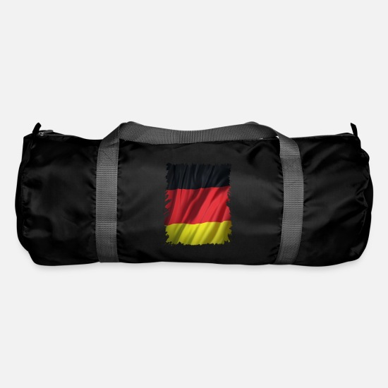 Federal Republic Of Germany Bags & Backpacks - Germany flag - banner - Germany flag - Duffle Bag black