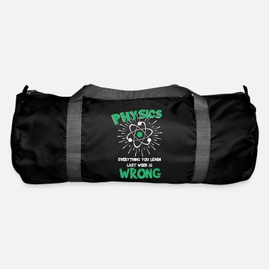 Week Physics week - Duffle Bag